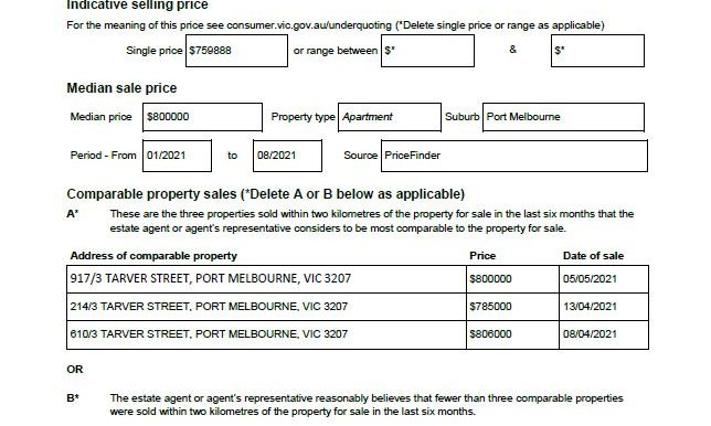 SOI-806-3 Tarver Street Port Melbourne VIC 3207